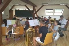 Jungmusiker-Camp Frauenalpe 2016