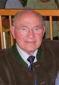 Ehrenobmann Franz Ressel
